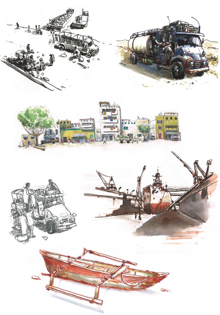 De la Tanzanie en Egypte - 2012