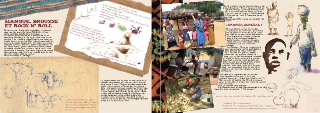 Extrait du carnet de voyage - Senegal - 2011