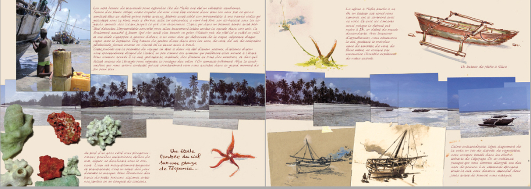 Extrait du carnet de voyage - Zanzibar - 2011