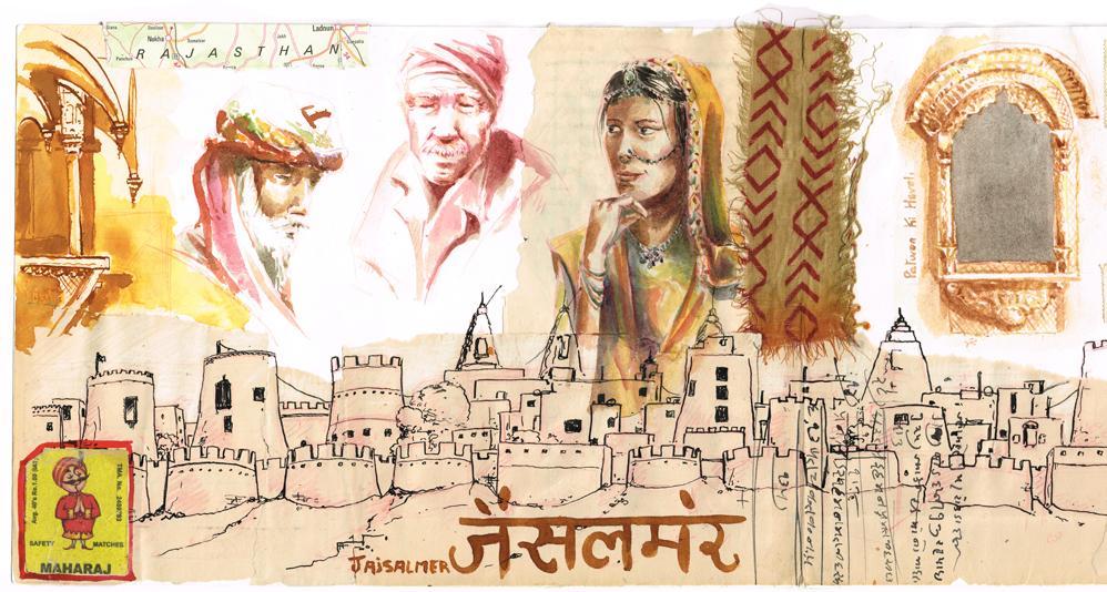 Jaisalmer dans le Rajasthan