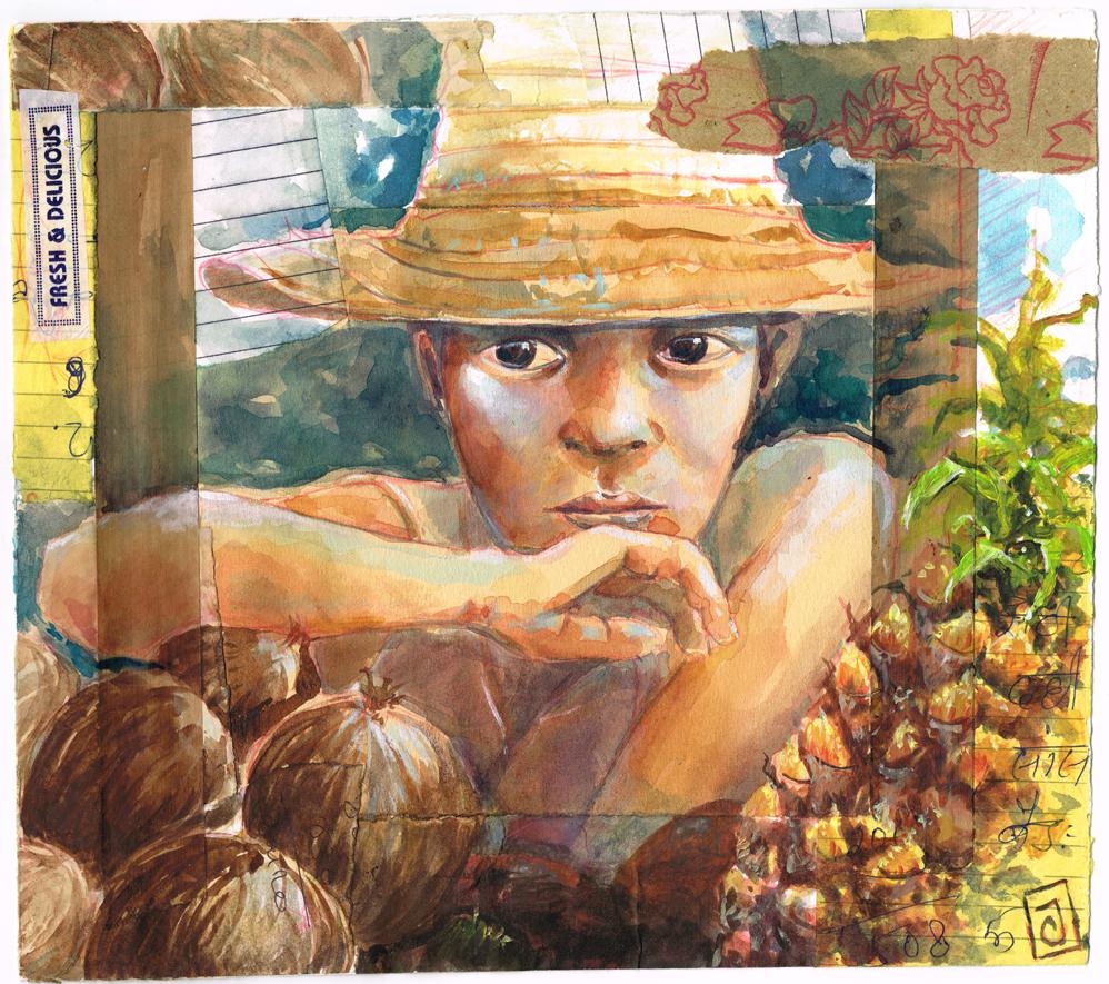 Le vendeur de coco