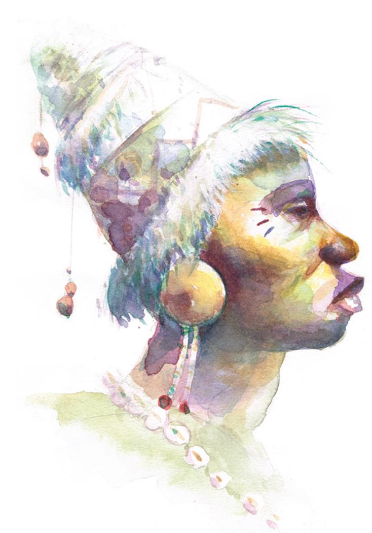 Portrait de griot - Mali 2011