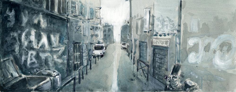 Rue de Marseille - 2012