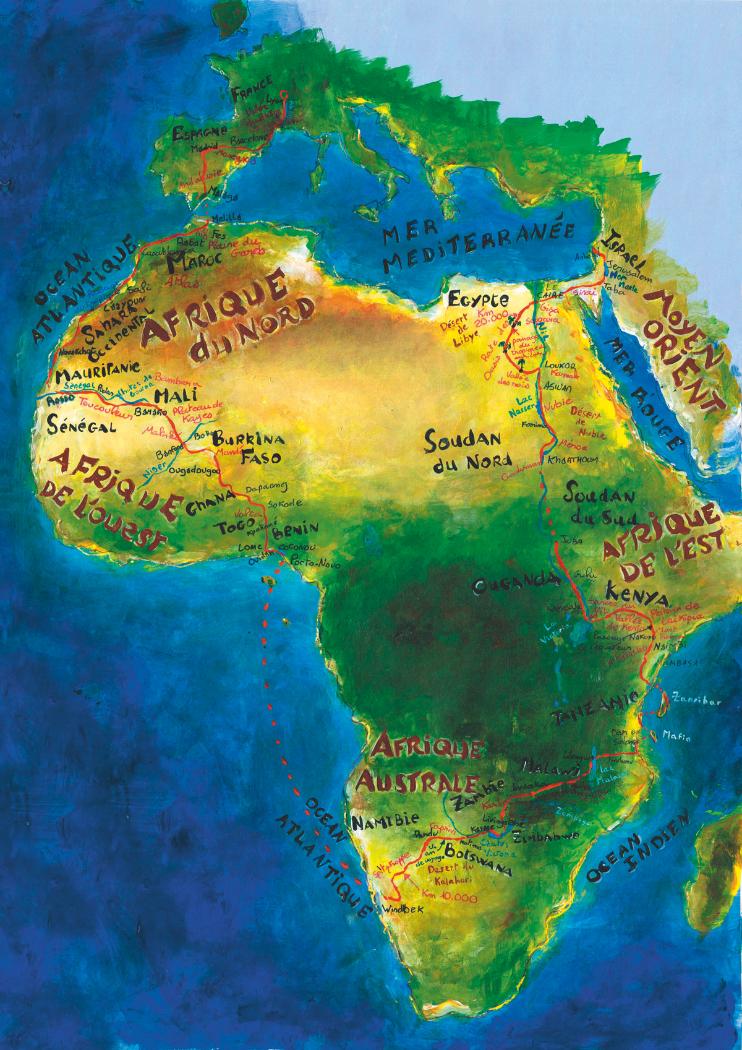 Trajet de 22 000 Km a travers 22 pays - 2010-2012
