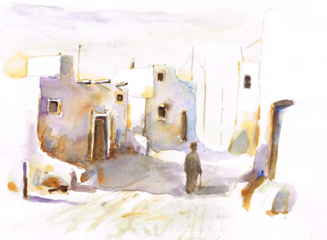 Village traditionnel SOudanais - 2012