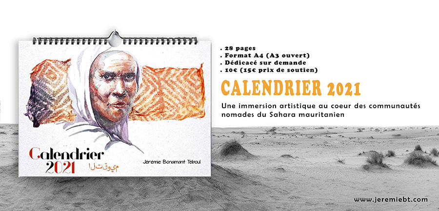 Montage paysage calendrier