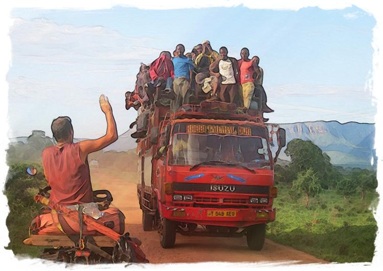 Afrique à vélo