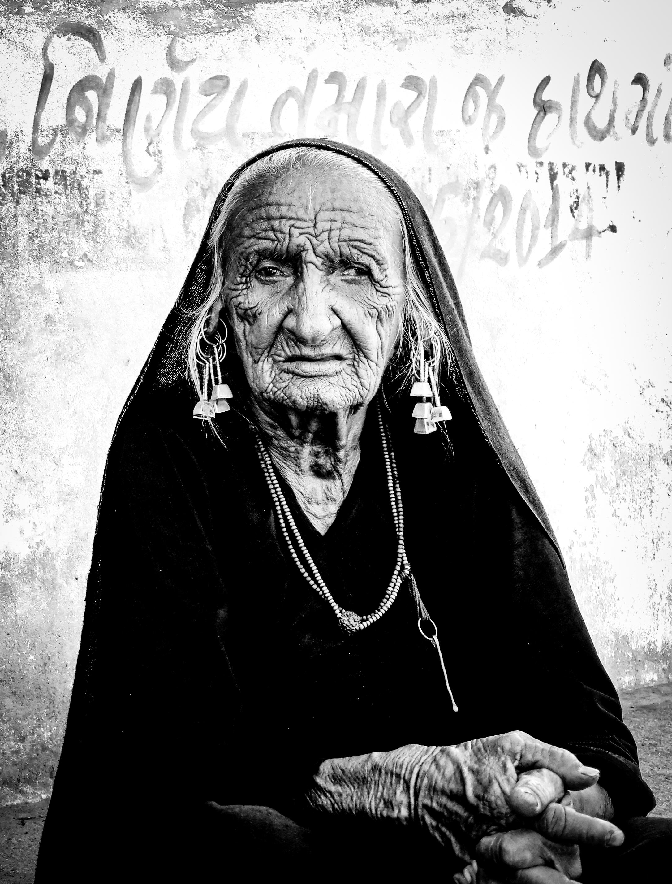 Portrait de femme Rajhastani
